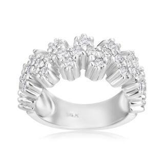 Andrew Charles 14k White Gold 1ct TDW Diamond Ring (H-I, SI2-I1)