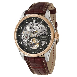 Armand Nicolet Men's 8620S-NR-P713BX2 Leather Watch
