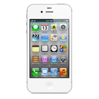 Apple iPhone 4S 32GB Verizon Unlocked GSM White Cell Phone with Siri and iCloud
