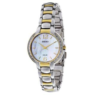 Seiko Women's SUP254 Stainless Steel Watch