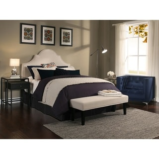 Republic Design House Portman Ivory Upholstered Headboard-Bench Collection