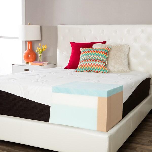 ComforPedic from Beautyrest Choose Your Comfort 14-inch Full-size Gel Memory Foam Mattress