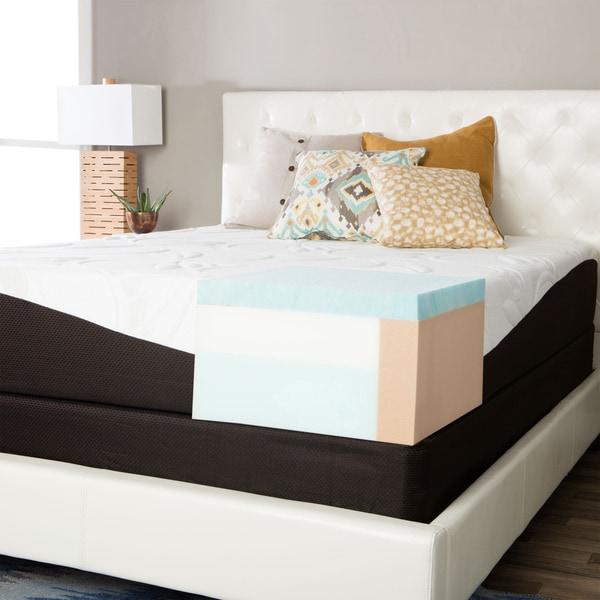 ComforPedic from Beautyrest Choose Your Comfort 12-inch King-size Gel Memory Foam Mattress Set
