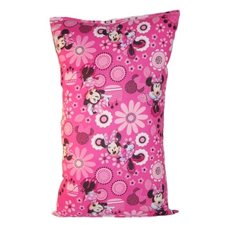 Lillowz Disney Minnie Mouse Reversible 9 x 16-inch Rectangular Throw Pillow