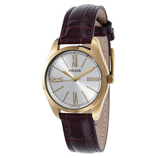 Pulsar Women's PG2012 Leather Watch