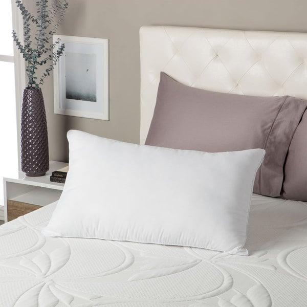 Beautyrest Comforpedic Loft Reversible Fiber and Memory Foam Pillow