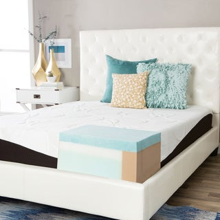 ComforPedic from Beautyrest Choose Your Comfort 10-inch Twin-size Gel Memory Foam Mattress