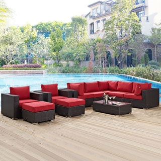 Gather 10-piece Outdoor Patio Sectional Set