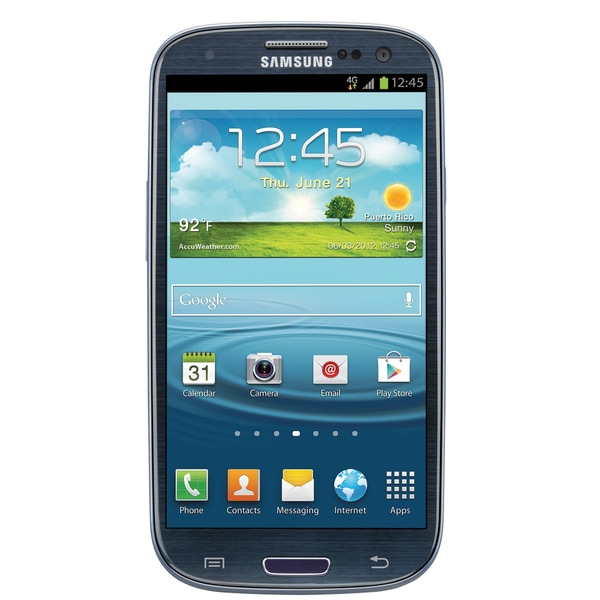 Samsung Galaxy S3 I747 16GB Blue 4G LTE AT&T Unlocked GSM Android Smartphone (Refurbished) 17672554