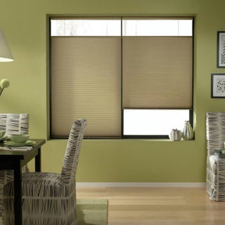Gold Rush 23 to 23.5-inch Wide Cordless Top Down Bottom Up Cellular Shades