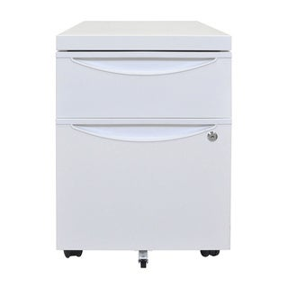 Offex Mobile Pedestal File Cabinet with Locking Drawer