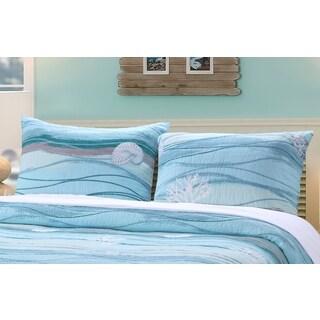 Maui Coastal Pillow Sham Set