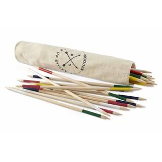 American Vintage Jumbo Wood Pick Up Sticks