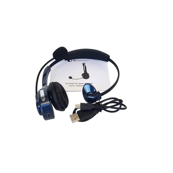 Top Dawg Single Ear Stereo Headset