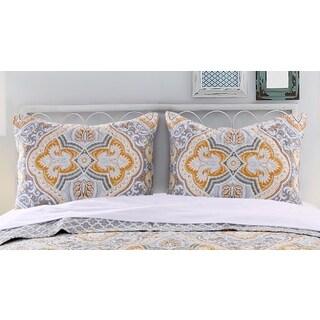 Valhalla Gold Pillow Sham Set