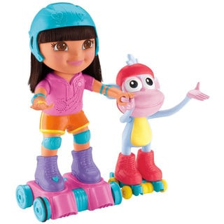 Dora the Explorer Skate and Spin Dora and Boots