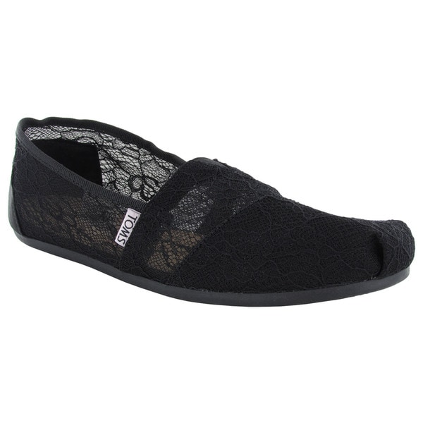 Toms Women's Classics Slip On Alpargata Flat Shoes
