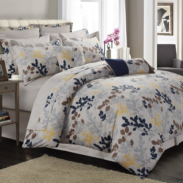 Barcelona cotton percale 12 piece bed in a bag with deep - Laura ashley barcelona ...