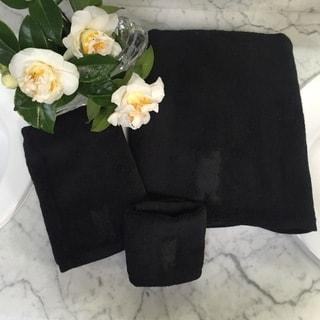 French Bull Oui Solid Logo 3-piece Towel Set - Black logo