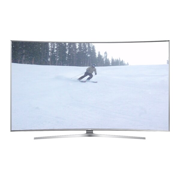 Samsung UN55JS9000FXZA 4K SUHD JS9000 Series Curved Smart TV 386092-5