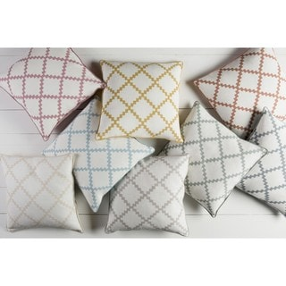Decorative Gish 18-inch Poly or Down Filled Pillow