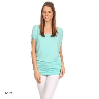 MOA Collection Women's Solid Shirt