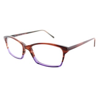 Lafont Hit Parade 5022 Amber Violet Plastic Square 53mm Eyeglasses
