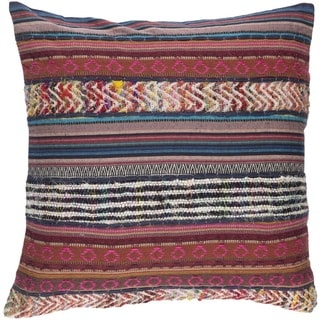 Decorative High 20-inch Poly or Down Filled Pillow
