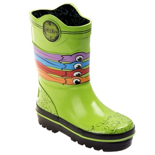 Ninja Turtles Boys' Rain Boots