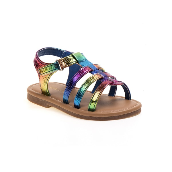 Laura Ashley Girls' Multi Strap Sandals