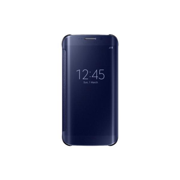Samsung Galaxy S6 Edge Clear S View Cover Original Case Retail Packaging Black Sapphire