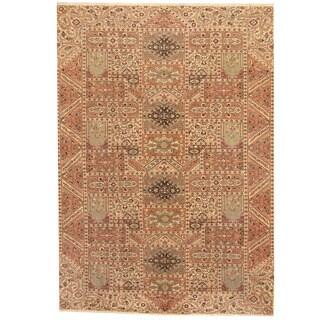 Herat Oriental Persian Hand-knotted Semi-antique Tabriz Multicolor Wool Rug (8'2 x 11'9)