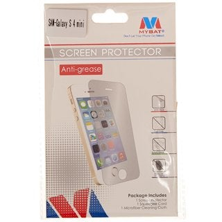 MyBat Anti-Grease LCD Screen Protector for Samsung Galaxy S4 Mini Retail Packaging Clear