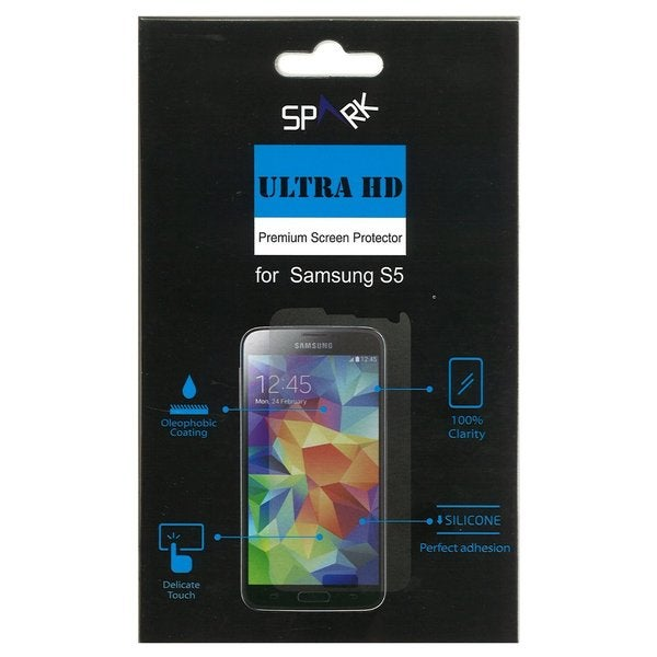 Spark Ultra HD Anti Scratch Premium Screen Protector for Samsung Galaxy S5