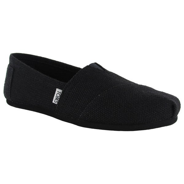 Toms Women's Classic Burlap Slip On Casual Shoes
