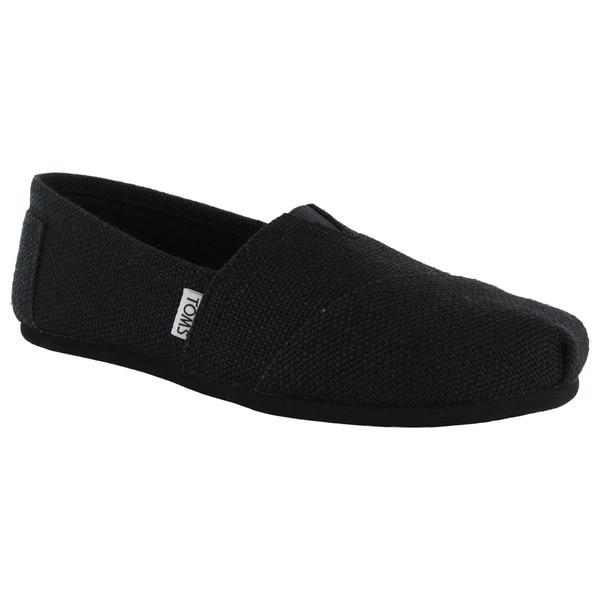 Toms Women's Classic Burlap Slip On Casual Shoes