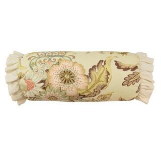 Waverly Graceful Garden Neck Roll Decorative Throw Pillow