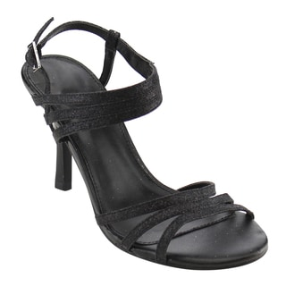 Beston CC94 Women's Sparking Ankle Strap Mid Heel Dress Sandals