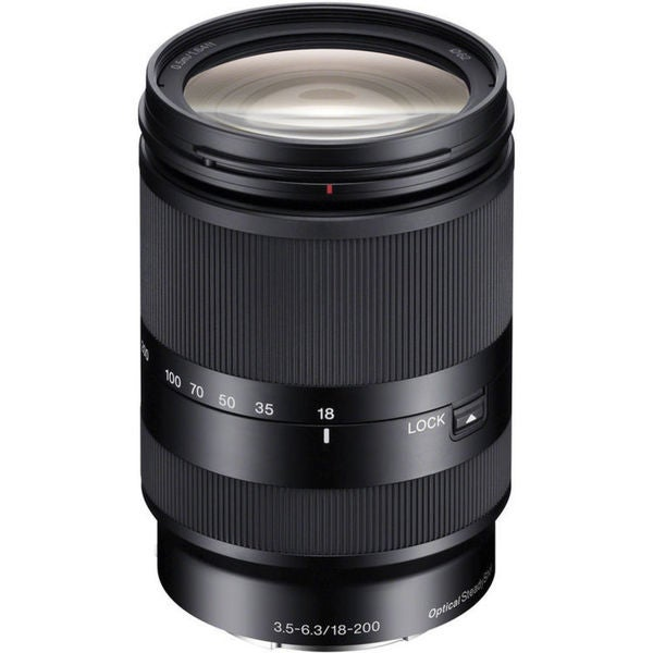 Sony 18-200mm f/3.5-6.3 OSS Lens for NEX Cameras