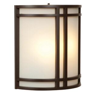 Access Lighting Artemis 2-light Outdoor Bronze Wall Fixture