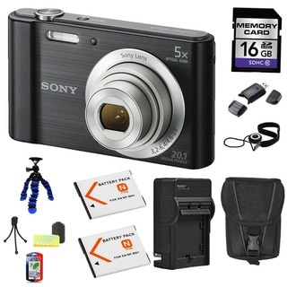 Sony DSC-W800 Digtial Camera Bundle