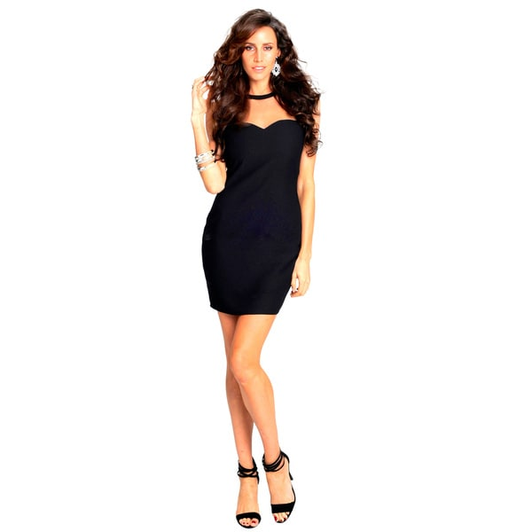 Sara Boo Sweetheart Shift Dress