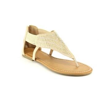 Beston DB29 Women'sRhinestone Accent Sandals
