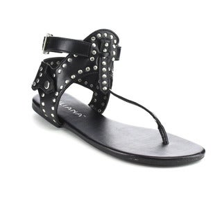 Beston DB21 Women's Studded Ankle Strap Sandals