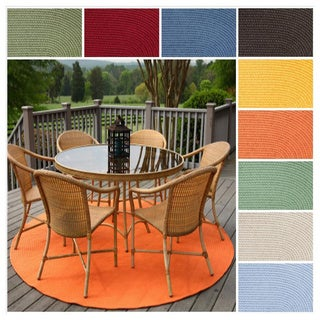 Rhody Rug Venice Indoor / Outdoor Braided Rug (10' Round)
