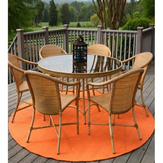 Rhody Rug Venice Indoor / Outdoor Braided Rug (6' Round)