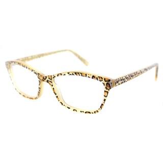 Lafont Oceane 380 Leopard Plastic Rectangle Soft Cat Eye 51mm Eyeglasses