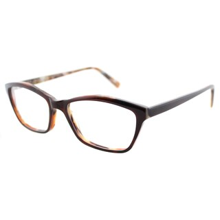 Lafont Oceane 563 Brown on Brown Marble Soft Cat Eye 51mm Eyeglasses