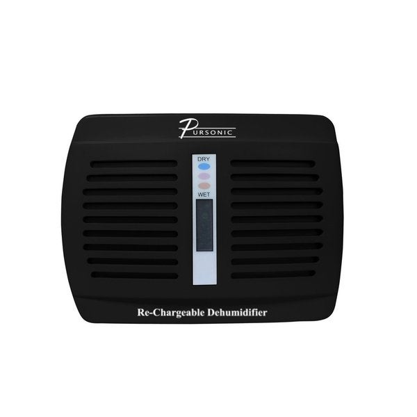 Pursonic DHM100 Mini Black Renewable/ Rechargeable Dehumidifier