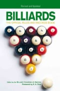 Billiards: The Official Rules And Records Book (Paperback)